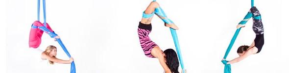 What is aerial silk dancing