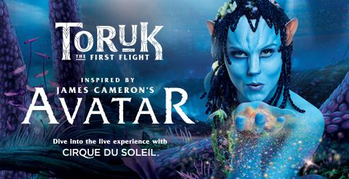 Sky Gym invades Cirque du Soleil TORUK 6-18-16