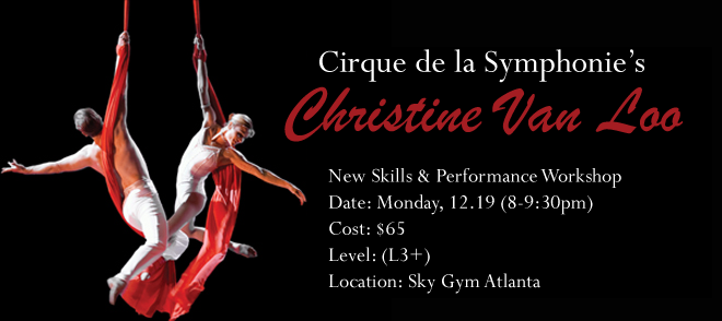 (L3+) Christine Van Loo Workshop 12-19-16